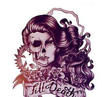 'Till death - drawing. by Susanna Olmi