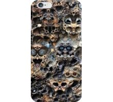 Slag Face (look closely) iPhone Case/Skin