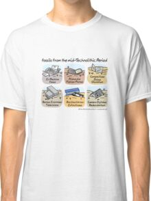 Technolithic fossils Classic T-Shirt