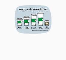 weekly coffee evolution Unisex T-Shirt