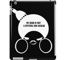 DTTF: Don't The 'Fro (ivory) iPad Case/Skin