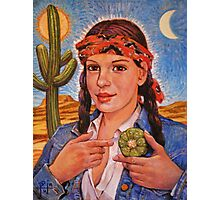 Peyote Woman Photographic Print