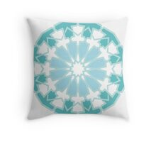 Mosaic Line 6 Throw Pillow