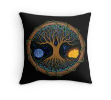 Astral Tree of Life Throw Pillow