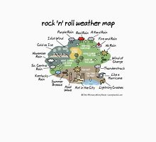 rock 'n' roll weather map Unisex T-Shirt