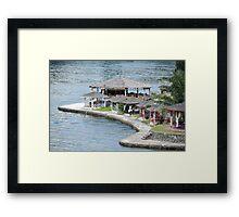 luxury cottage Framed Print