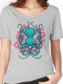 Octupus & Coral Women's Relaxed Fit T-Shirt