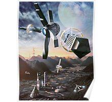 The Portable Empire - A Future Civilisation  Poster