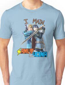 Smash Bros Samus x Lucina Mains Unisex T-Shirt
