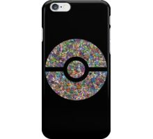Pokeball collage  iPhone Case/Skin
