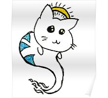 He's a good kitten (Gold) Poster