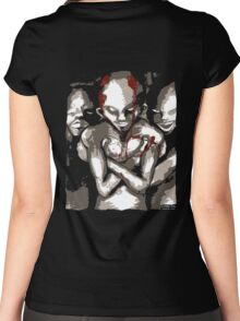 Evil Dwells Women's Fitted Scoop T-Shirt