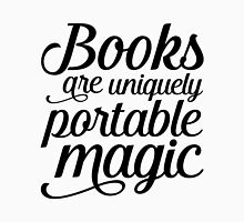 Books are portable magic Unisex T-Shirt
