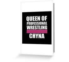 Queen of Pro Wrestling Greeting Card