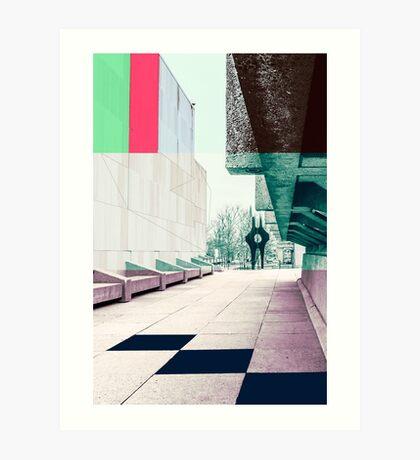 Dualist Design - Layered Perceptions Art Print