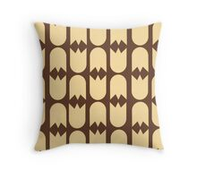 Tulips (brown) Throw Pillow