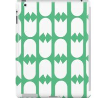 Tulips (green) iPad Case/Skin