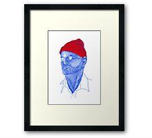 Bill Murray Steve Zissou Framed Print