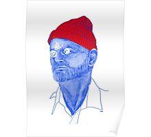 Bill Murray Steve Zissou Poster