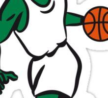 Basketball funny sports Sticker
