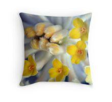 Edgeworthia chrysantha Throw Pillow