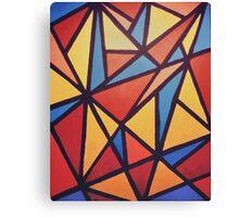 90s mosaic Canvas Print