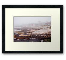 Seaside Community Framed Print