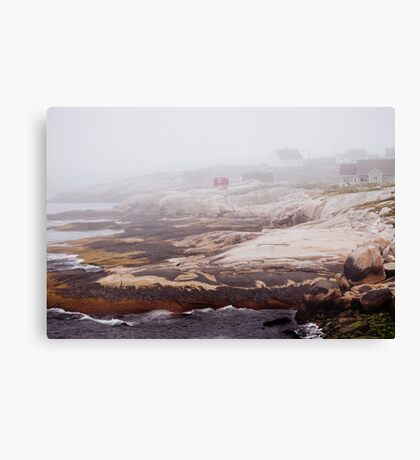 Seaside Community Canvas Print