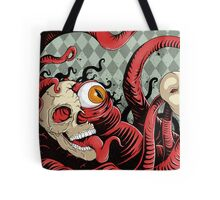 IT wore many masks... Tote Bag