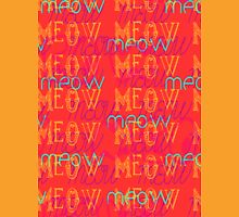 Meow ~ Coral Unisex T-Shirt