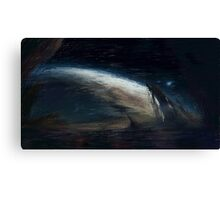 Abstract Planets Canvas Print