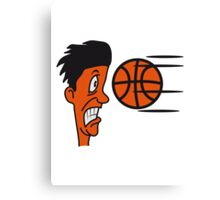 Basketball sports funny cool Canvas Print