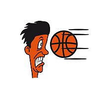 Basketball sports funny cool Photographic Print