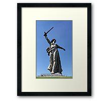 Amazon warrior woman Framed Print