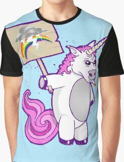 F*%K RAINBOWS Graphic T-Shirt