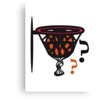 Basketball sports funny Canvas Print
