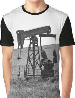 Pumpin' Crude Graphic T-Shirt