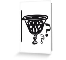 Basketball sports funny Greeting Card
