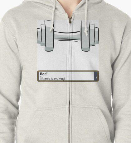 Fitness Evolving Zipped Hoodie