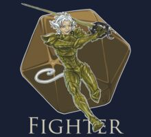 Dungeons and Dragons Fighter Kids Tee