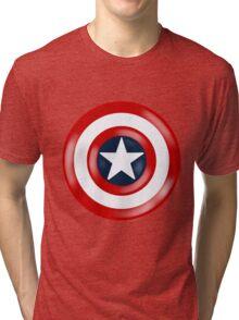Captain America Shield Tri-blend T-Shirt