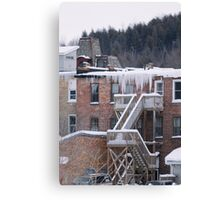 Hanging Ice Canvas Print