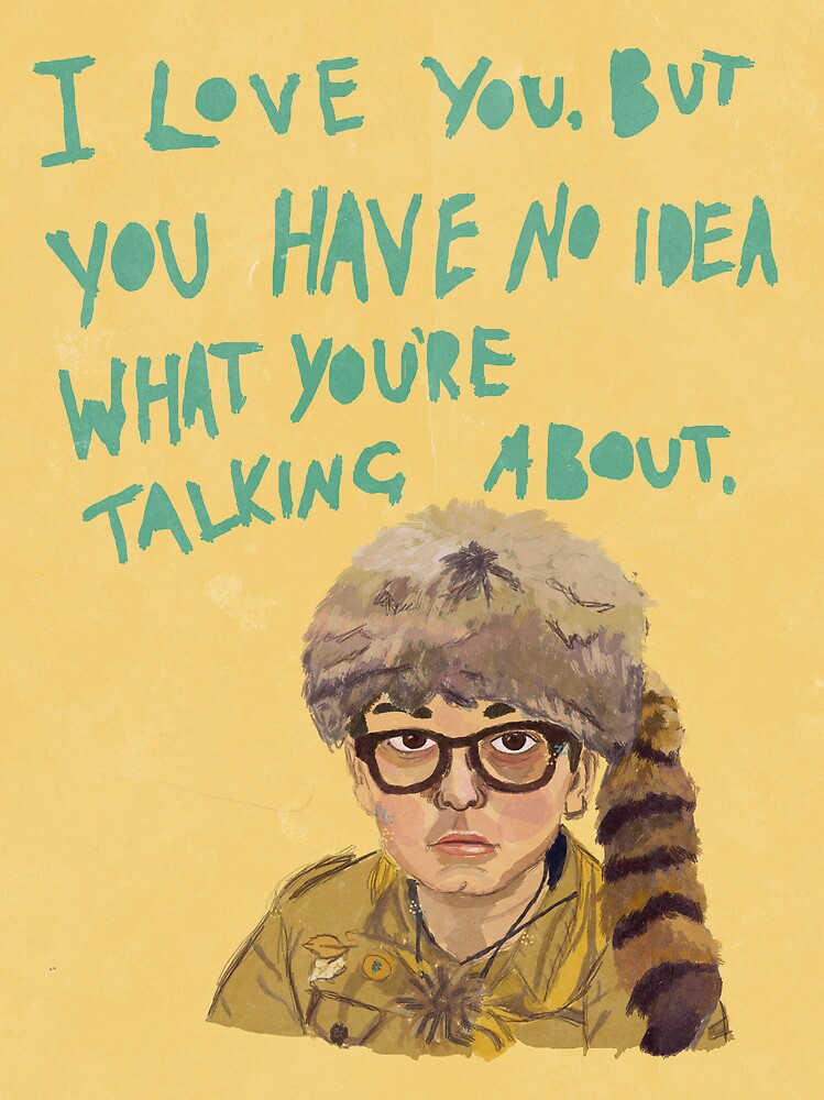sam - moonrise kingdom  by Tess Smith-Roberts