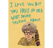 sam - moonrise kingdom  Photographic Print