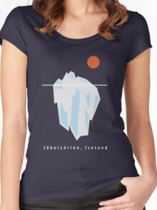 Iceberg Women's Fitted Scoop T-Shirt