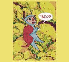 Armadillos Love Tacos One Piece - Short Sleeve