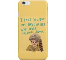 sam - moonrise kingdom  iPhone Case/Skin
