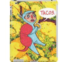 Armadillos Love Tacos iPad Case/Skin