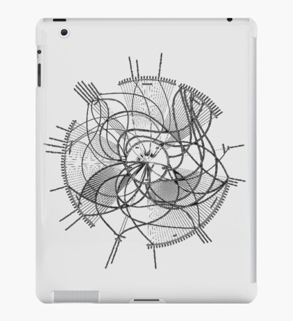 complex connection iPad Case/Skin