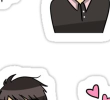 Free! - Sosuke and Momo Sticker Set Sticker